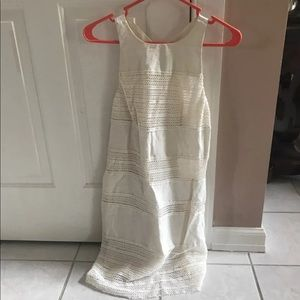 Worn Once! White right Dress